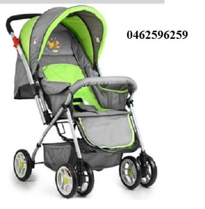 Xe đẩy trẻ em Angel 3011 màu xanh