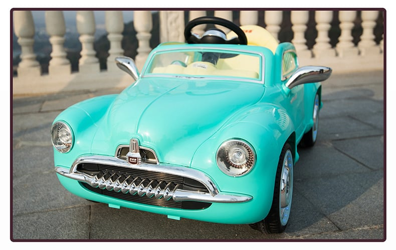 Xe ô tô điện trẻ em SX-1518 màu xanh