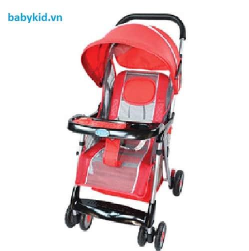 Xe đẩy trẻ em Hope HP-722C màu đỏ