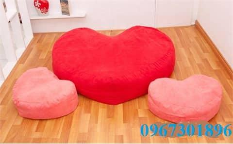 ghế-lười-hạt-xốp-hình-trái-tim
