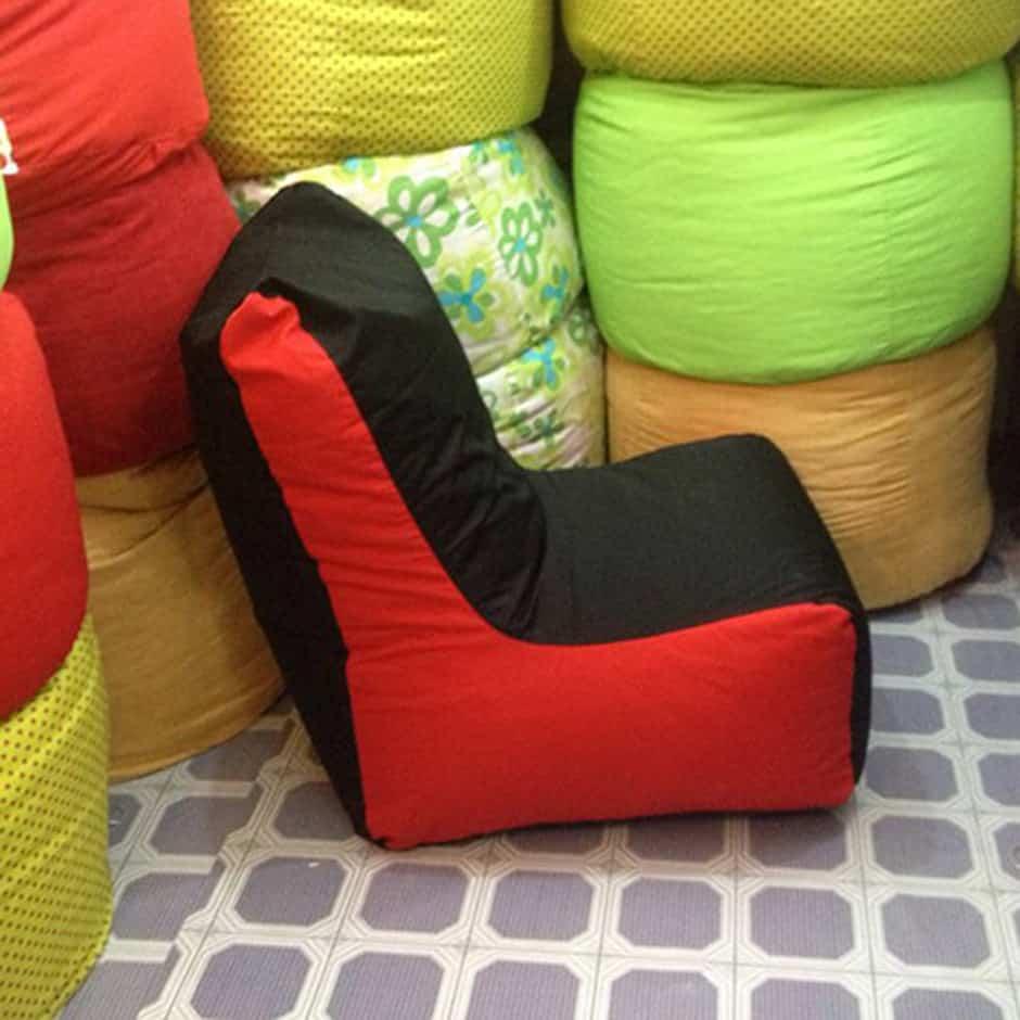 Ghế lười hạt xốp dáng Sofa cho trẻ em