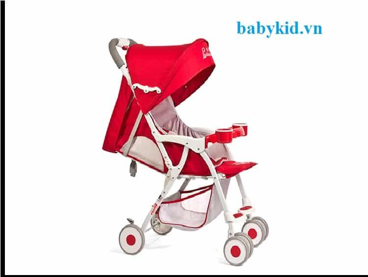 Xe đẩy trẻ em Goldenbaby A1 màu đỏ