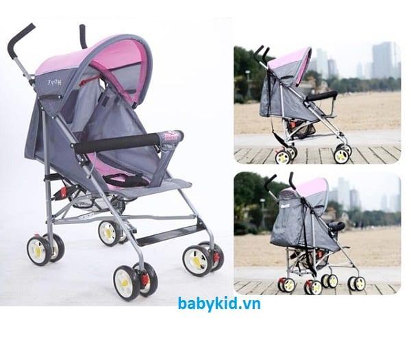 Xe đẩy trẻ em Hope HP-306 màu tím
