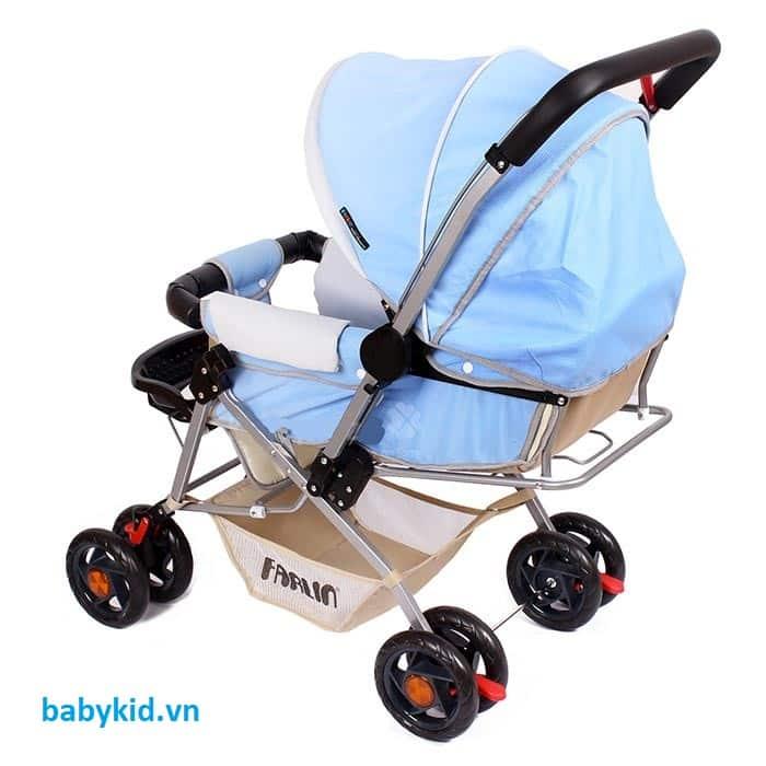 Xe đẩy trẻ em Hope HP-306 màu xanh