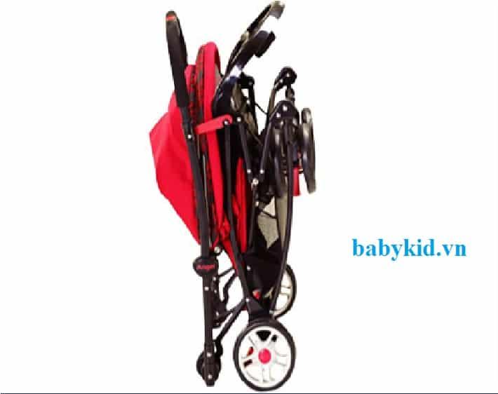 Xe đẩy trẻ em Angel 3504 đỏ