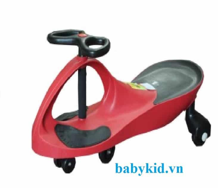 Xe lắc trẻ em HQ- 3006 màu đỏ