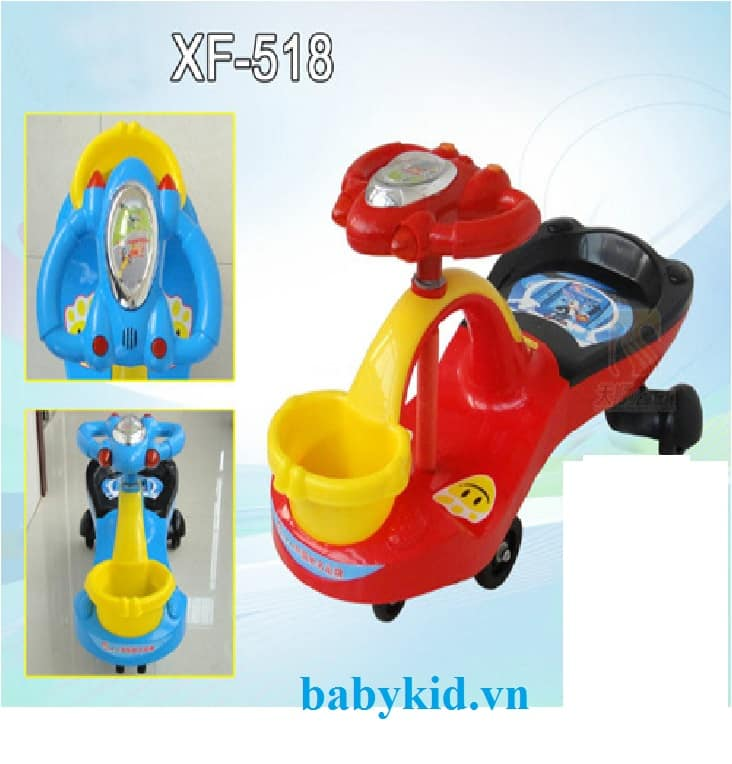 Xe lắc trẻ em 518