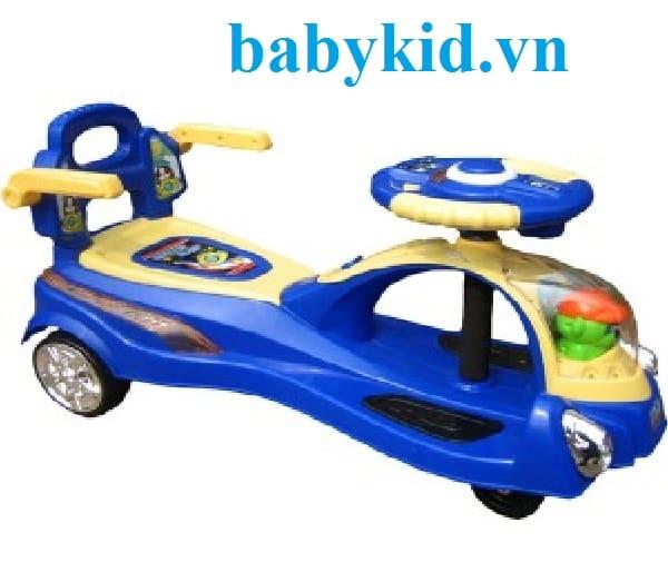 Xe lắc trẻ em XBD-608 xanh