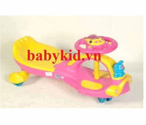 Xe lắc trẻ em XL88 màu hồng