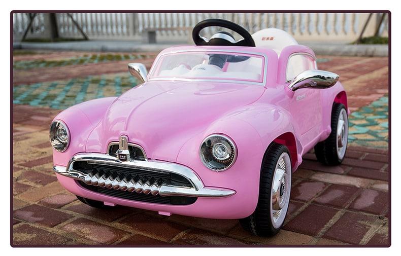 Xe ô tô điện trẻ em SX-1518 màu hồng