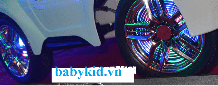 Xe ô tô điện trẻ em AT1818 bánh xe giảm xóc
