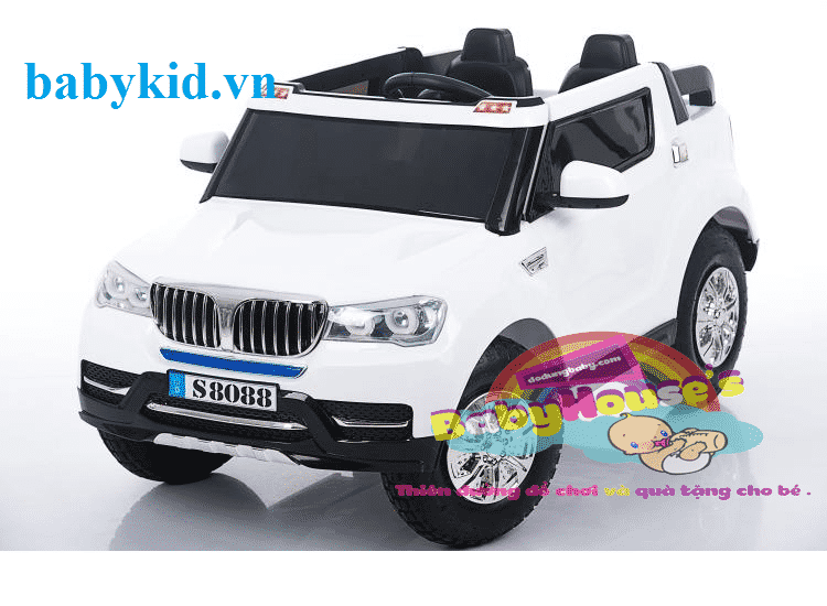 Xe ô tô điện trẻ em BMW-S8088 ( bánh hơi)