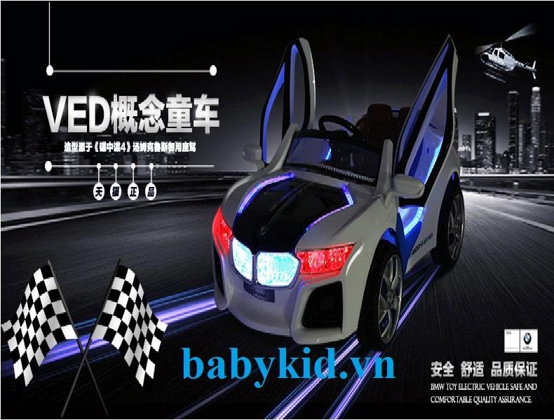 Xe ô tô điện trẻ em HL-958