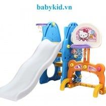 Cầu trượt trẻ em N001B màu xanh dương