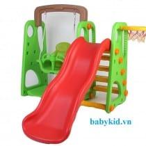 Cầu trượt trẻ em xích đu liên hoàn KT007 XL