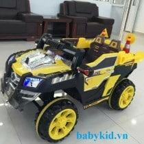 Xe ô tô điện trẻ em địa hình 803 màu vàng