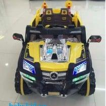Xe ô tô điện trẻ em địa hình 803 màu vàng1