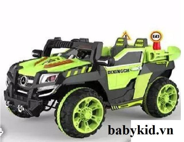 Xe ô tô điện địa hình trẻ em 803 màu xanh