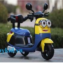 Xe máy điện trẻ em Minion 9988 ngộ nghĩnh