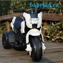 Xe máy điện trẻ em YH8819 màu trắng1