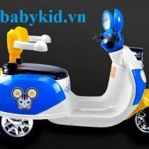 Xe máy điện trẻ em YH99118 màu trắng