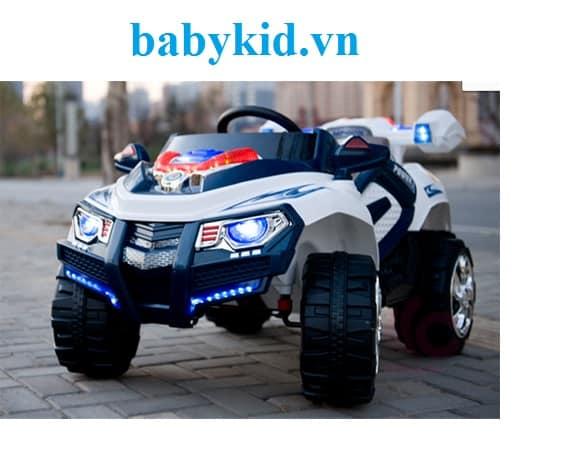 xe ô tô điện trẻ em BLK-818 kiểu dáng quân sự