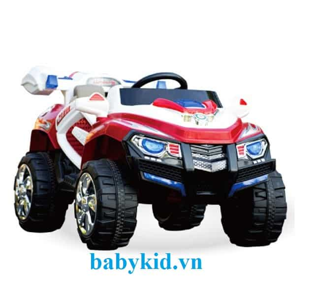xe ô tô điện trẻ em BLK-818 màu đỏ