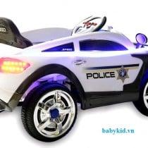 xe ô tô điện trẻ em YH-99170 màu trắng