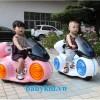 xe máy điện trẻ em 9803 màu hồng