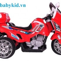 xe máy điện trẻ em yh8815 màu đỏ1