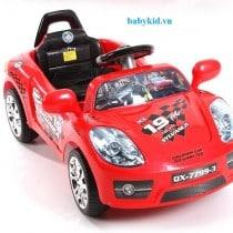 Xe máy điện trẻ em QX-7799-3 màu đỏ