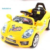 Xe máy điện trẻ em QX-7799-3 màu vàng