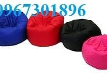ghế lười hạt xốp hình trụ tròn size M