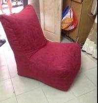Ghế lười hạt xốp hình sofa size L