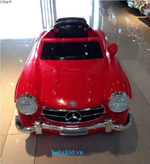 Xe ô tô điện trẻ em Mec-7998 màu đỏ