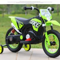 Xe máy điện trẻ em 305 màu xanh cốm
