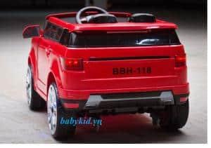Xe ô tô điện trẻ em BBH-118 đỏ1