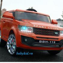 Xe ô tô điện trẻ em BBH-118 cam 1