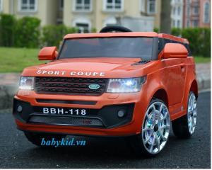 Xe ô tô điện trẻ em BBH-118 cam 2