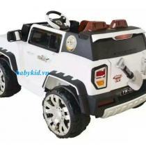 Xe ô tô điện trẻ em YN-3215 màu trắng