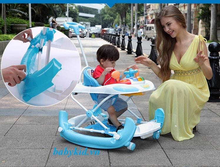Xe tập đi trẻ em 213BTP mẫu mới