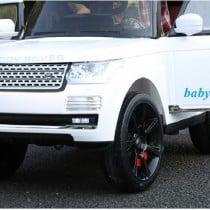 xe ô tô điện trẻ em 6628 màu trắng