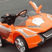 xe ô tô điện trẻ em YC-358 màu cam