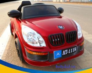 Xe ô tô điện trẻ em AT-1118 màu đỏ