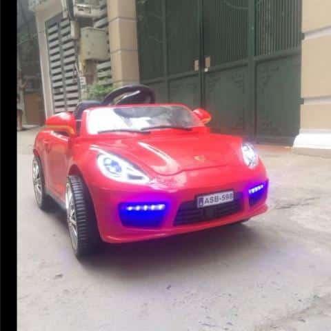 xe ô tô điệ trẻ em ASB-598 màu đỏ