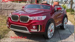 xe ô tô điện trẻ em A-998 ghế bọc da sang trọng mẫu mới