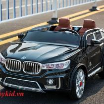 Xe ô tô điện trẻ em A-998 ( ghế da) mầu đen