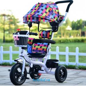 Xe ba bánh đẩy trẻ em 1101 ( có mái che) giá tốt nhất tại Babykid.vn