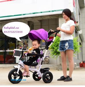 xe đẩy ba bánh trẻ em cao cấp 1101