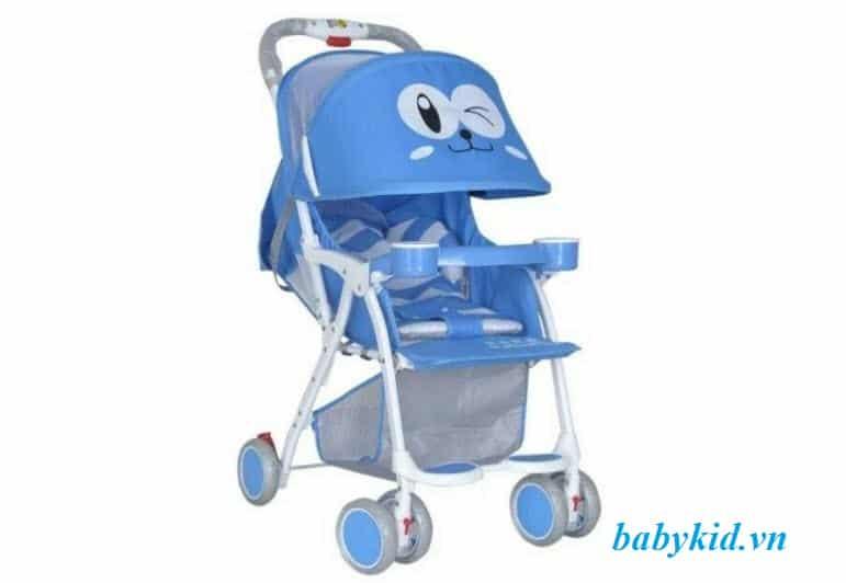 xe đẩy trẻ em 711 màu xanh dương